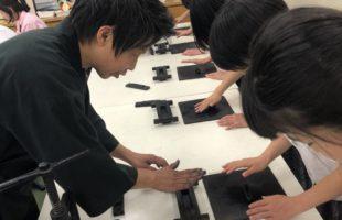京都光華中学に出張してきました