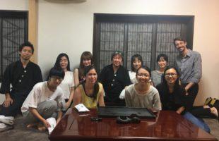 奈良県外国人支援センターの留学生さん達