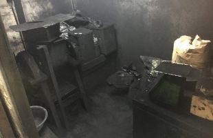 煤と膠の撹拌 その2