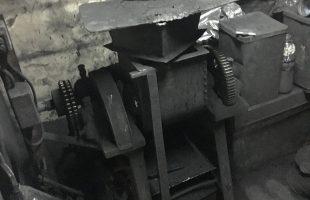 煤と膠の撹拌 その1