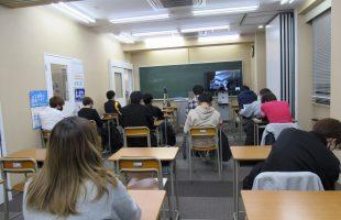第一学院高等学校でのオンライン授業